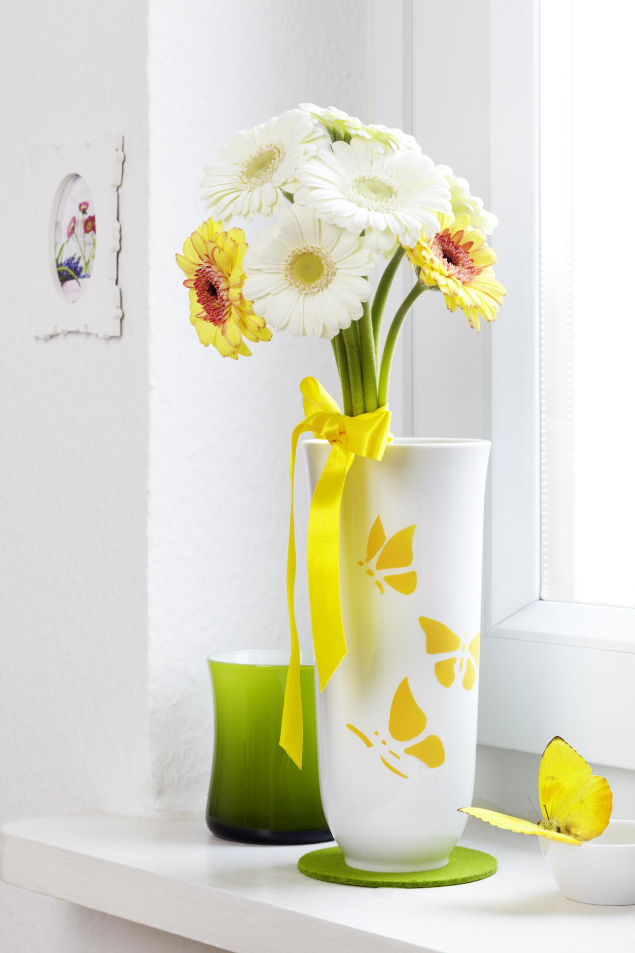 Tuerchen 14 - Brautstrauß-Vase von Sina's Welt