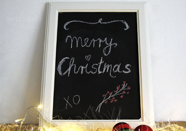 Tuerchen 16 - Chalkboard-Idee von was eignenes