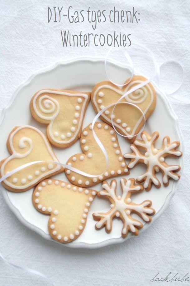 Tuerchen 6 - Wintercookies mit Zuckerguss von Backbube