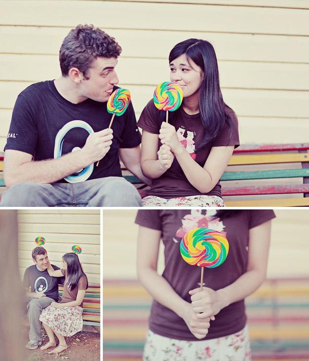 Adrian und Bernadette in love von creARTivia
