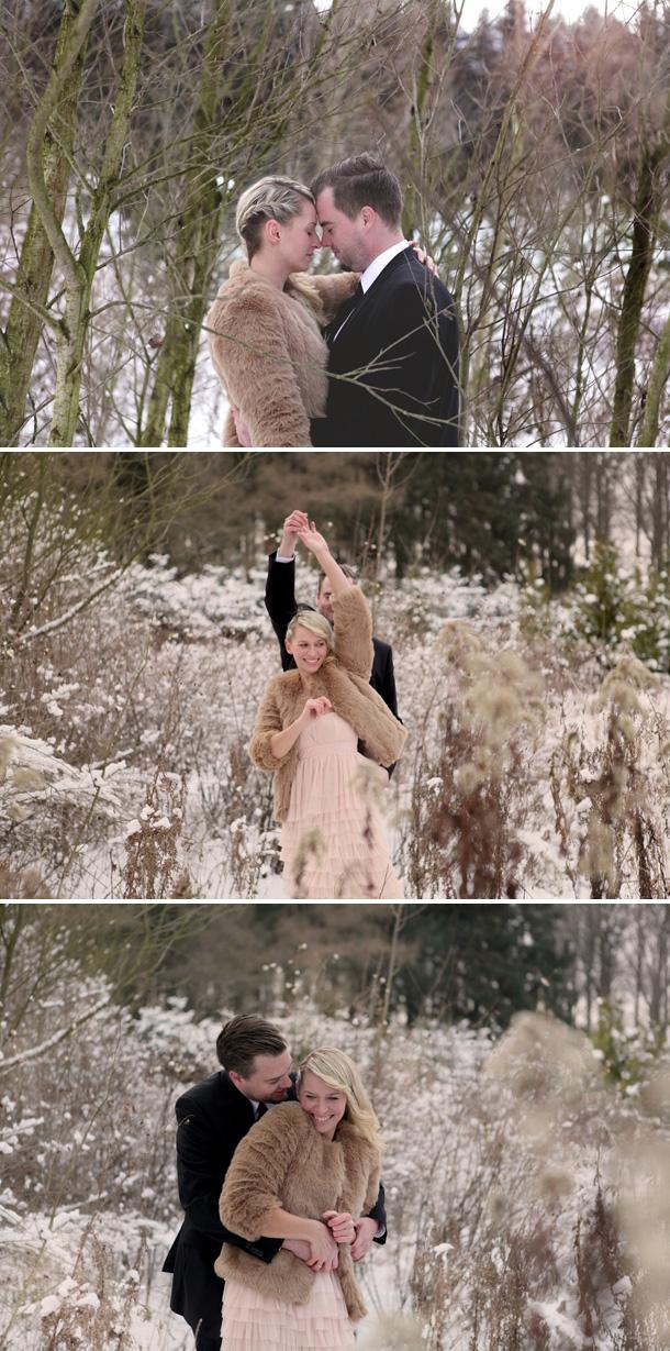 Winterliches After-Wedding-Shooting von Cornelia Krein Photography
