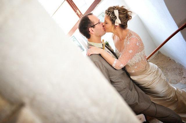 Patricia und Alexander - Vintage romantische Hochzeit in Schloss Beichlingen