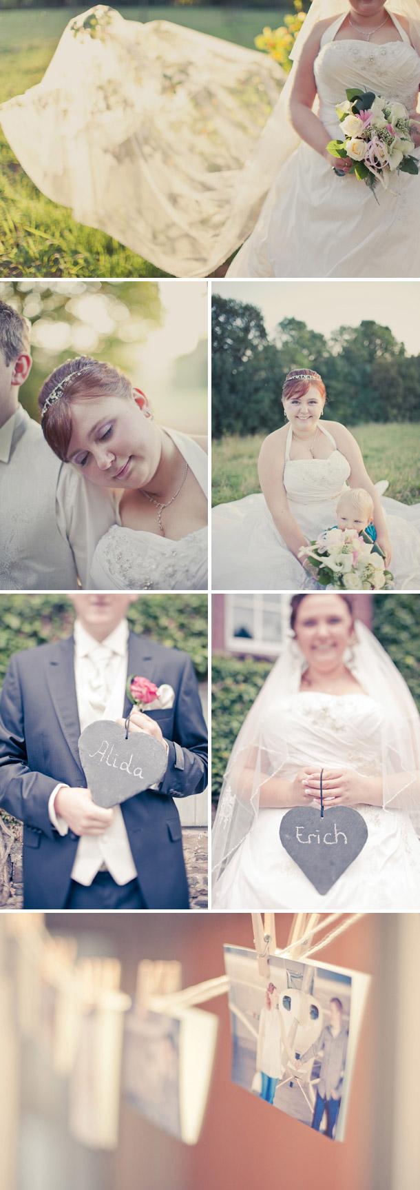 Alida und Erichs Hochzeit bei Martin Wall Photography