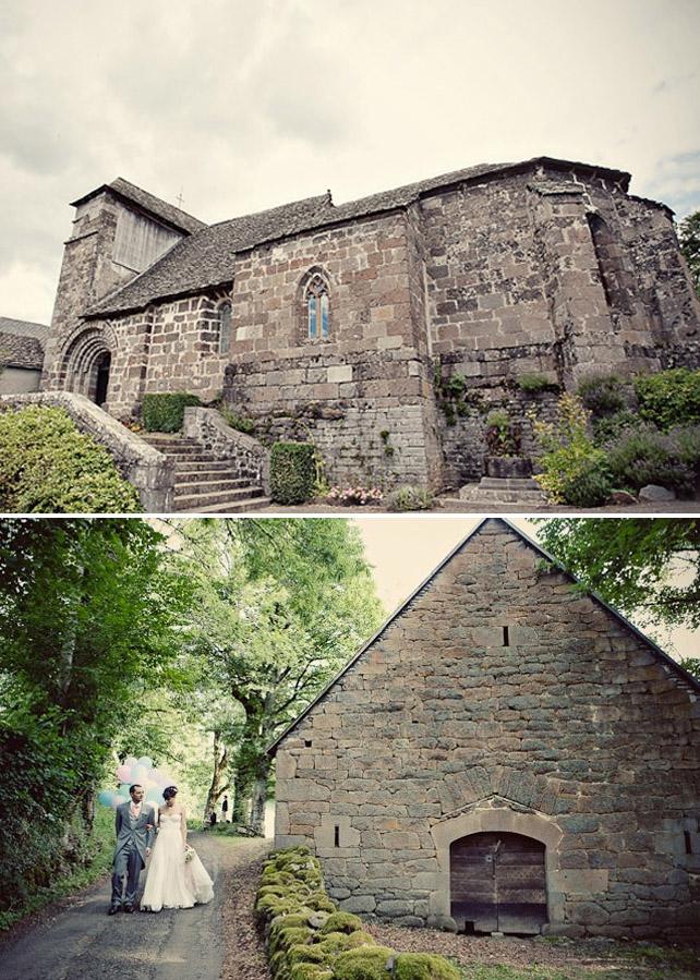 Alix und Emmanuel's Traumhochzeit in Frankreich - Die romantische Burg