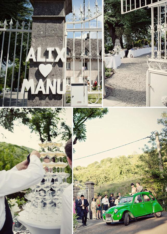 Alix und Emmanuel's Traumhochzeit in Frankreich - Die Hochzeitsfeier