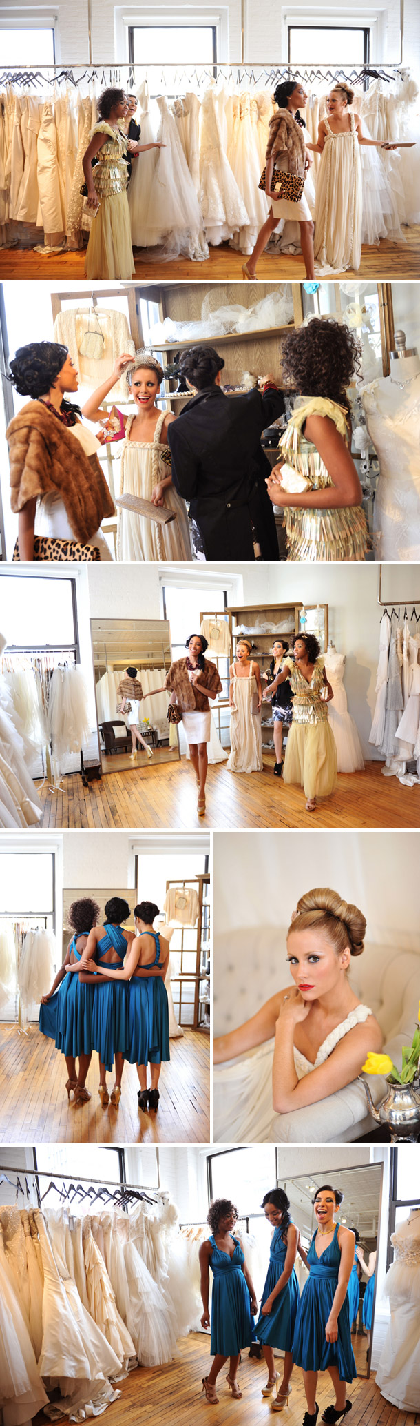Brautkleid Shopping in New York von Andrea & Marcus