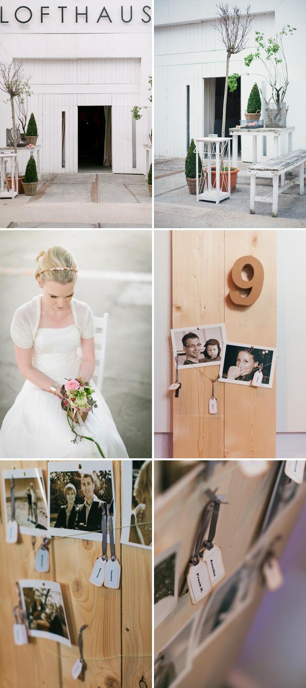 Düsseldorfer Lofthaus Hochzeit von Hanna Witte