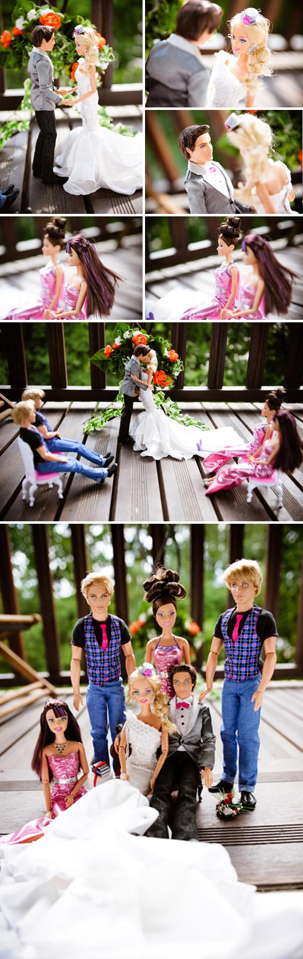 Barbie und Kens Hochzeitsinspiration bei Béatrice de Guigné