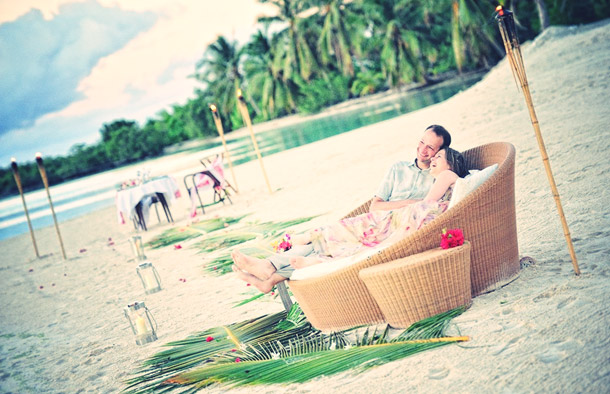 Heiraten und Honeymoon auf Bora Bora