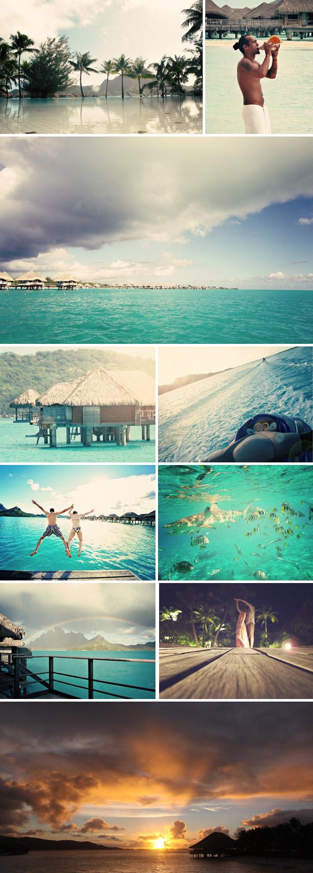 Heiraten und Honeymoon auf Bora Bora