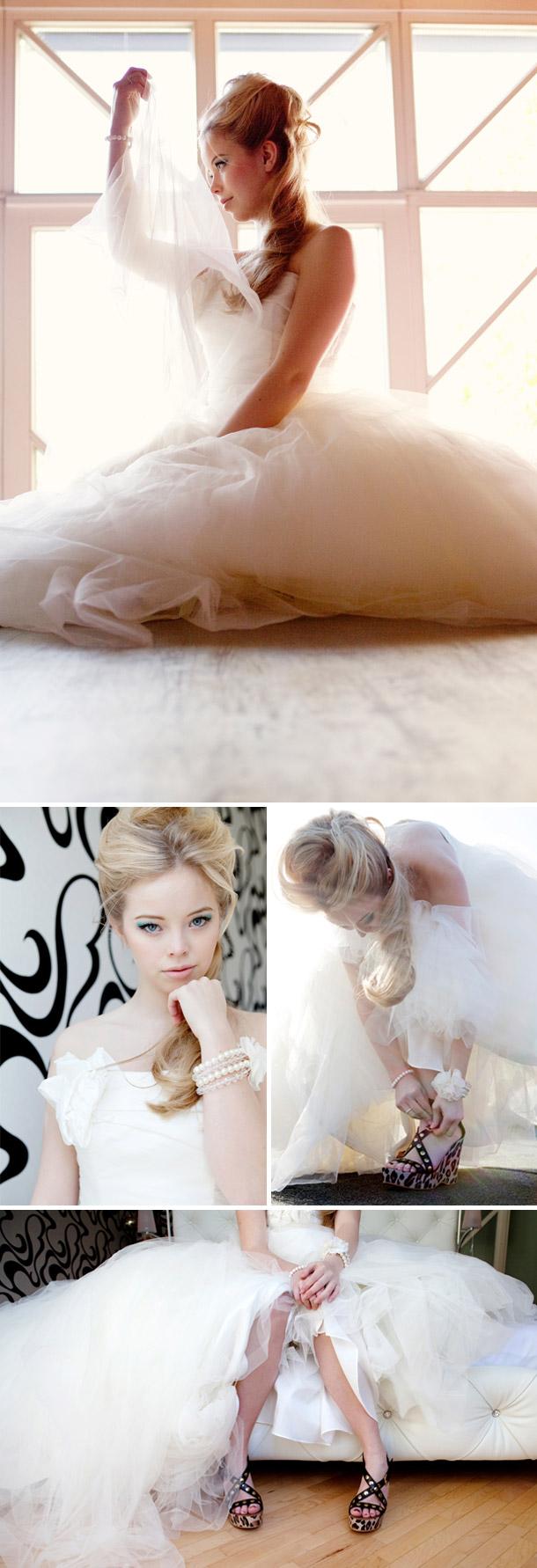 Brautstyling bei Doreen Kuehr Photography