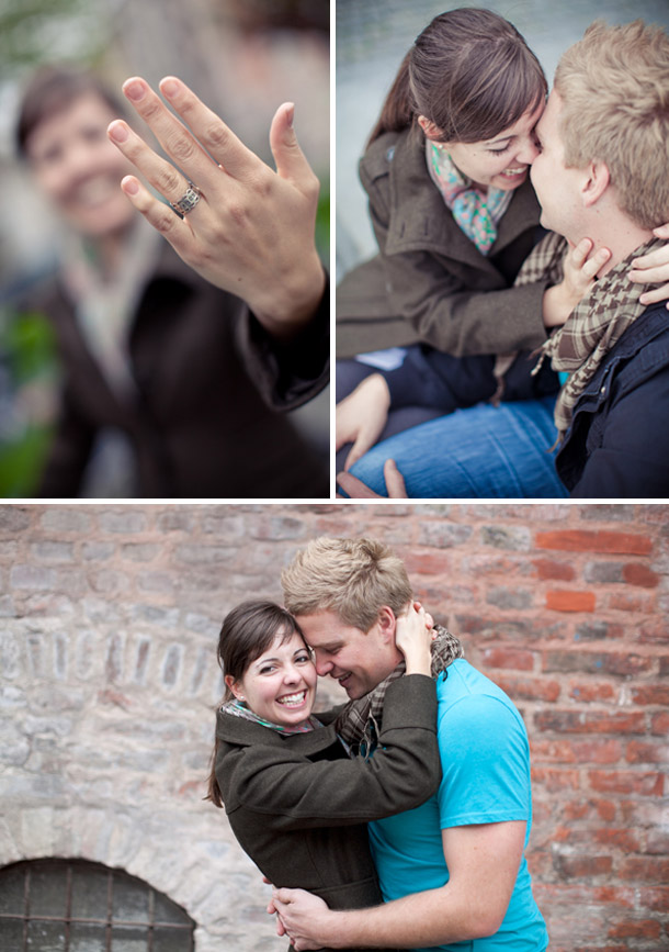 Heiratsantrag mit versteckten Verlobungsshooting von Caringo Photografix