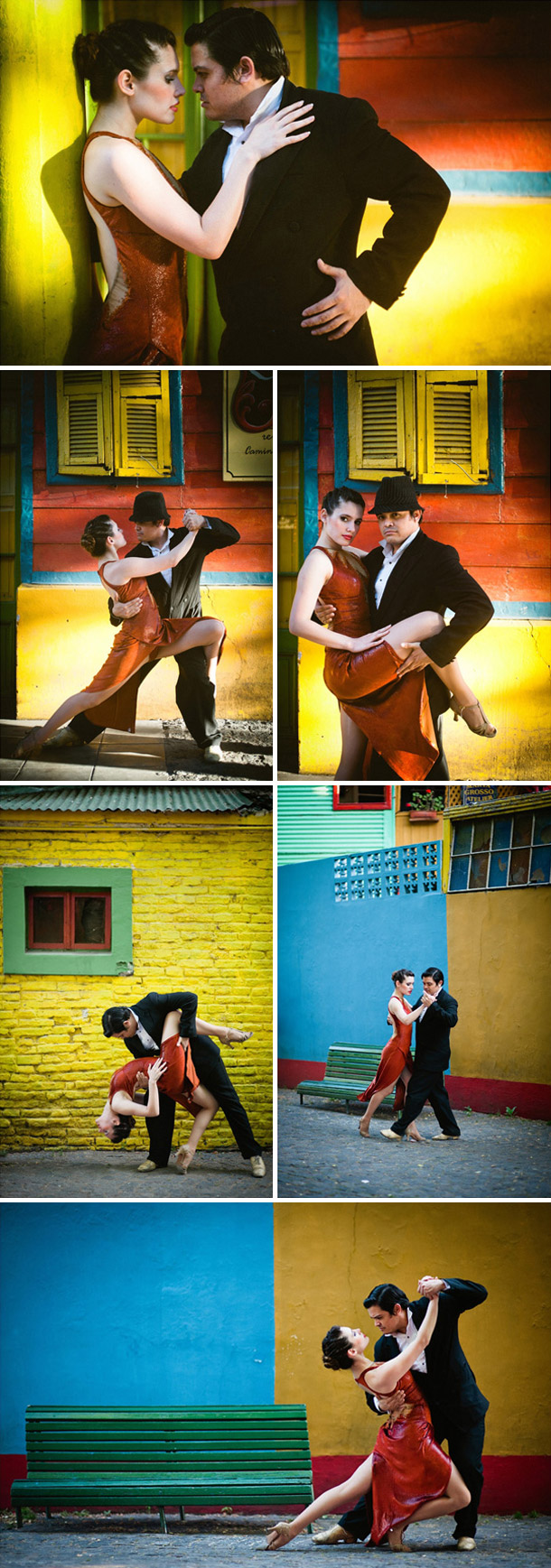 Tango Inspiration bei Claire Morgan Photography