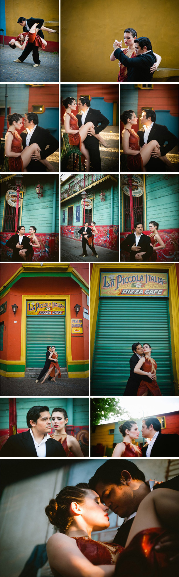 Tango Inspiration bei Claire Morgan Photography