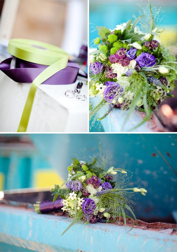 Hochzeitsdekorationen - Farbige Akzente