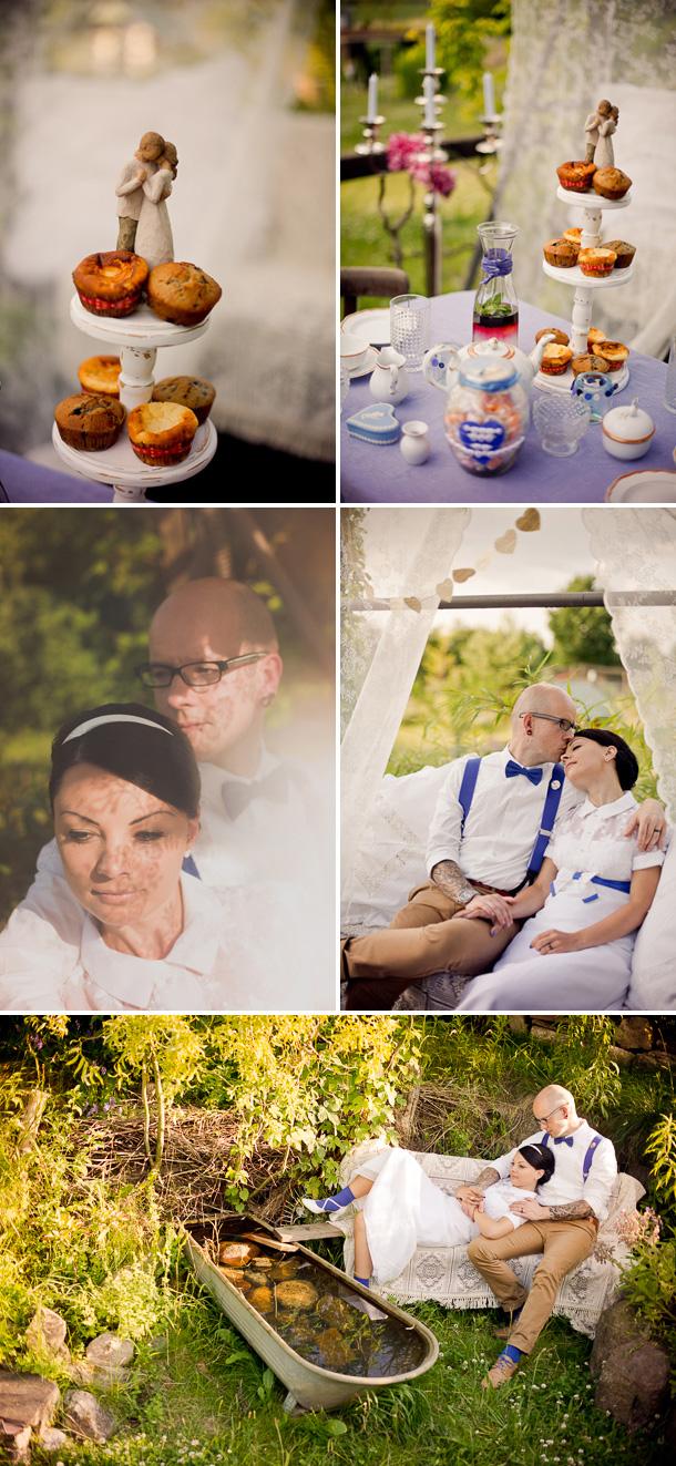 Vintage Verliebte Hochzeit von Manuela Clemens Photography