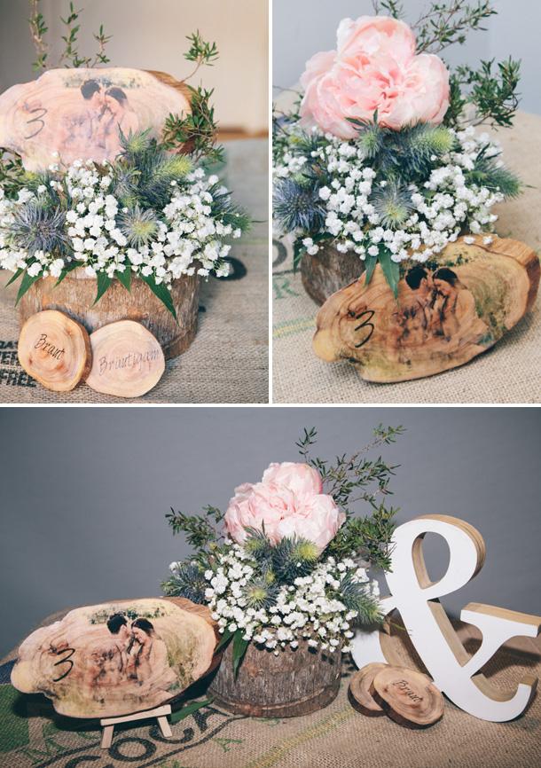 Rustikale Deko Hochzeit