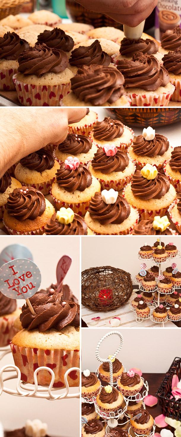 Hochzeitswahn liebt Cupcakes