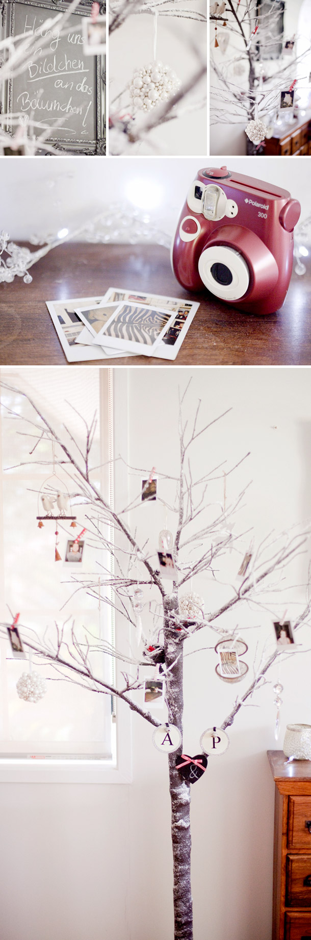 DIY - Polaroid Fotobaeumchen