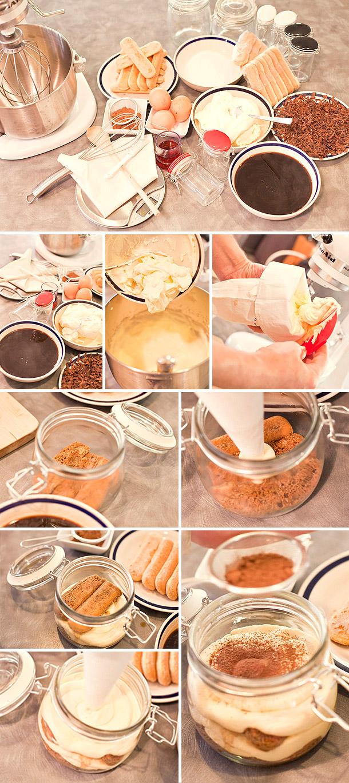 DIY - Tiramisu im Glas als Gastgeschenk