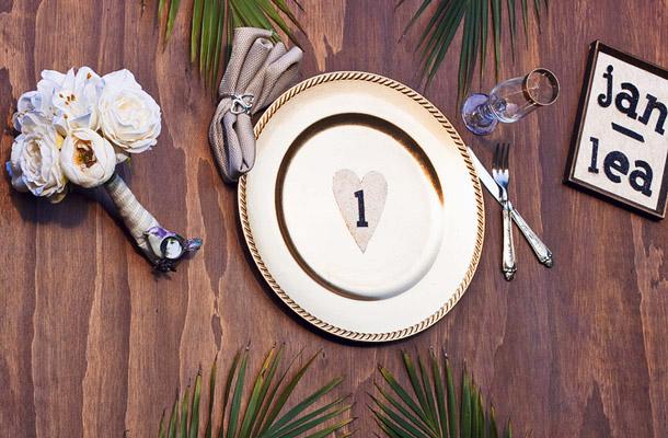 DIY Tischplan fuer Hochzeiten mal anders