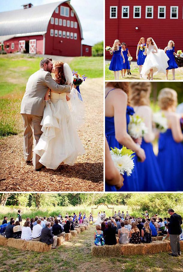 Blumiger Hochzeitstraum fotografiert von Jamie Hammond