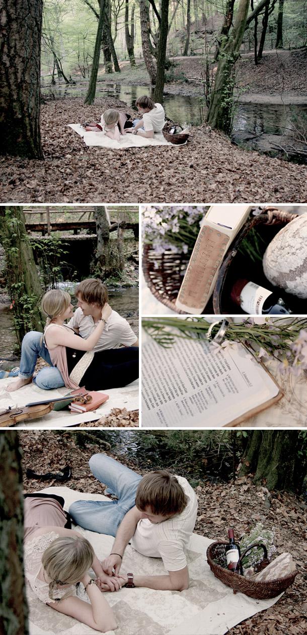 Evelin und Timos Picknick im Gruenen von Cornelia Krein Fotografie