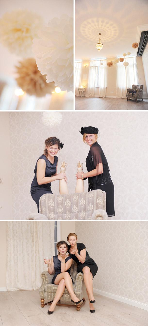 Elegante 20er Jahre Bridal Shower mit Die Hochzeitsfotografen