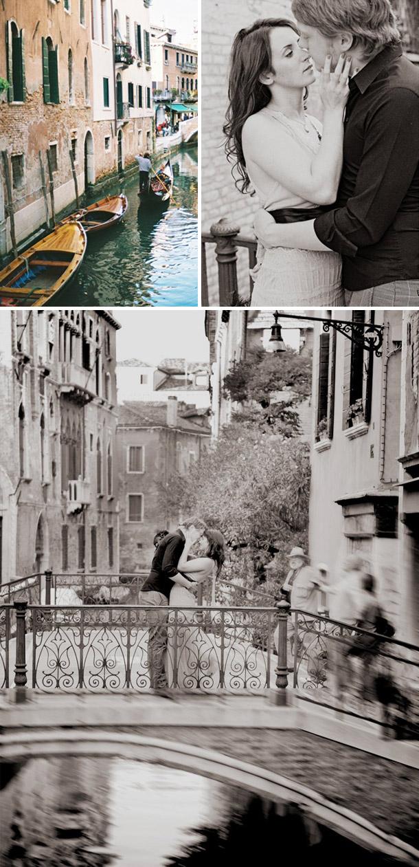 Venedig und beste Freunde mit Foto Huttenlocher