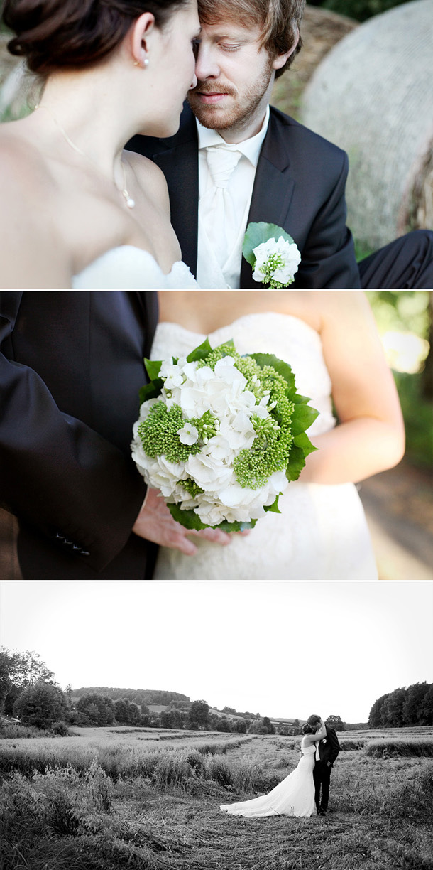 Vintage-verliebte Hochzeit von Stennie Photography