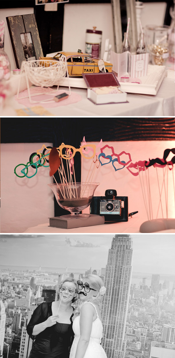 DIY-Hochzeit im New York Stil bei Lene Photography - Hochzeitswahn ...