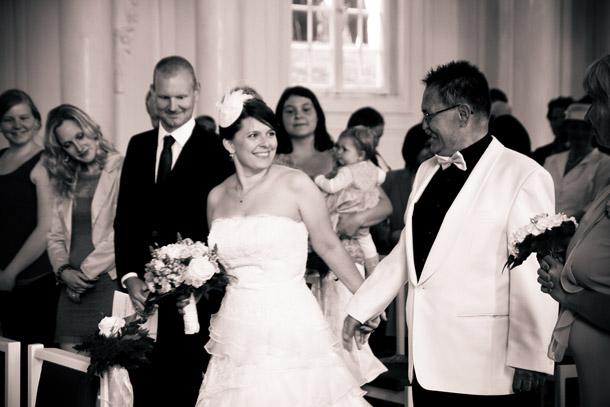Französisch inspirierte Hochzeit im Schloss Solitude