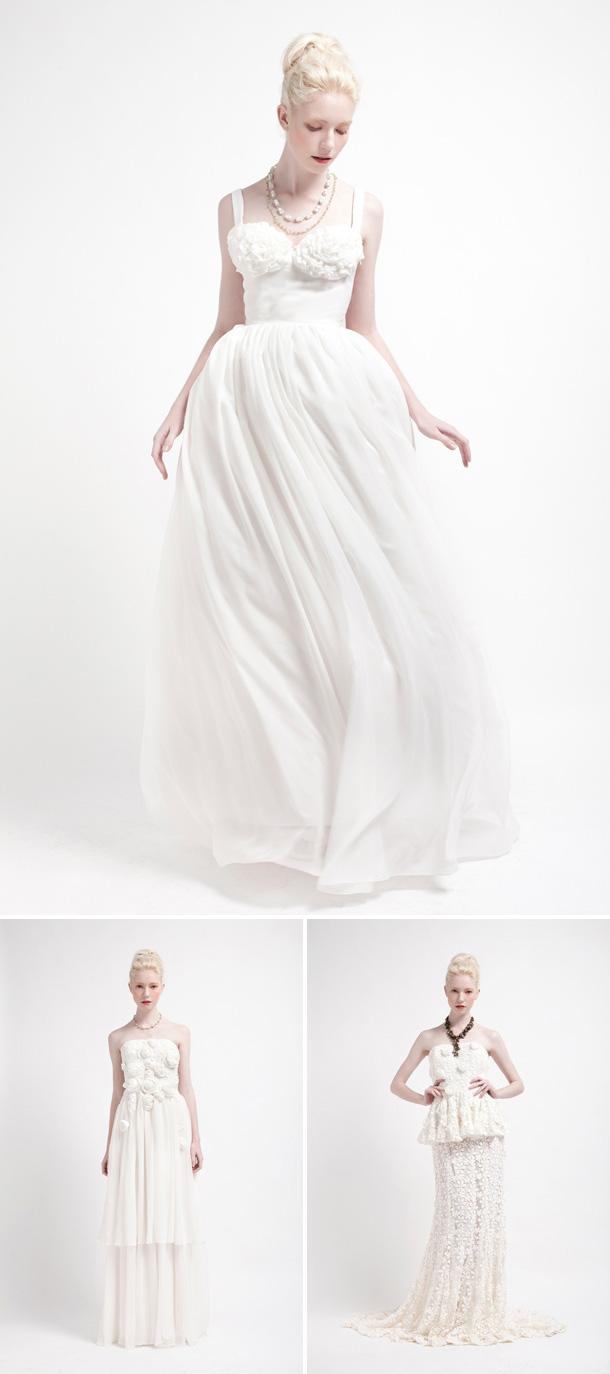 Von Blumen inspirierte Brautkleider von Kelsey Genna