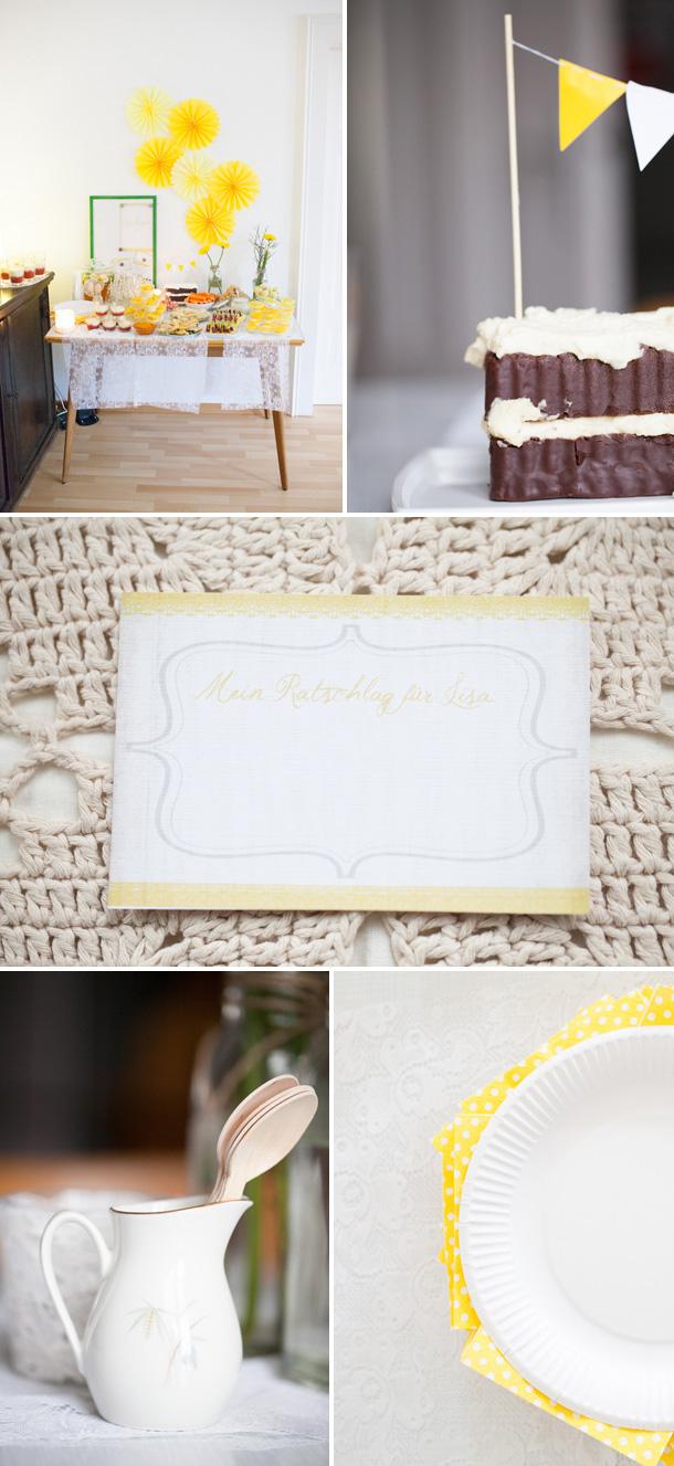 Strahlend gelbe Bridal Shower von Liebenswert Fotografie