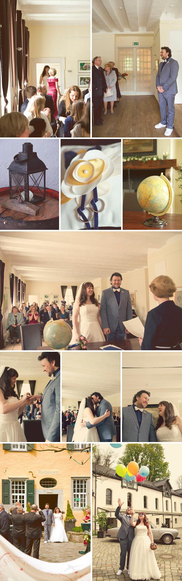 Schloss Lüntenbeck Hochzeit von Gasoline Photography