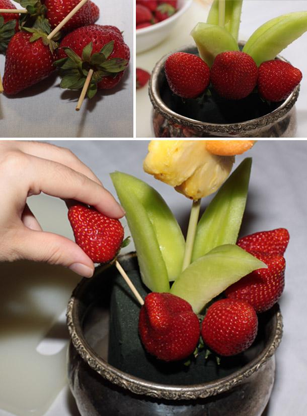 Fruchtiger Blumentopf (DIY)