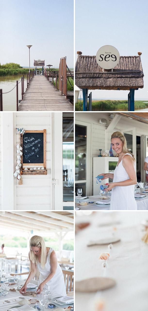 Baumwollene Hochzeitsfeier von Dorelies Hofer