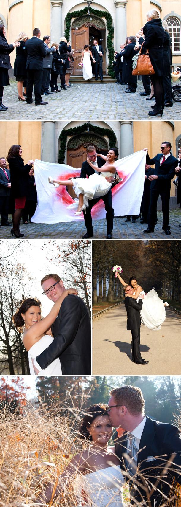 Nadine und Benes Hochzeit bei Björn Brockt