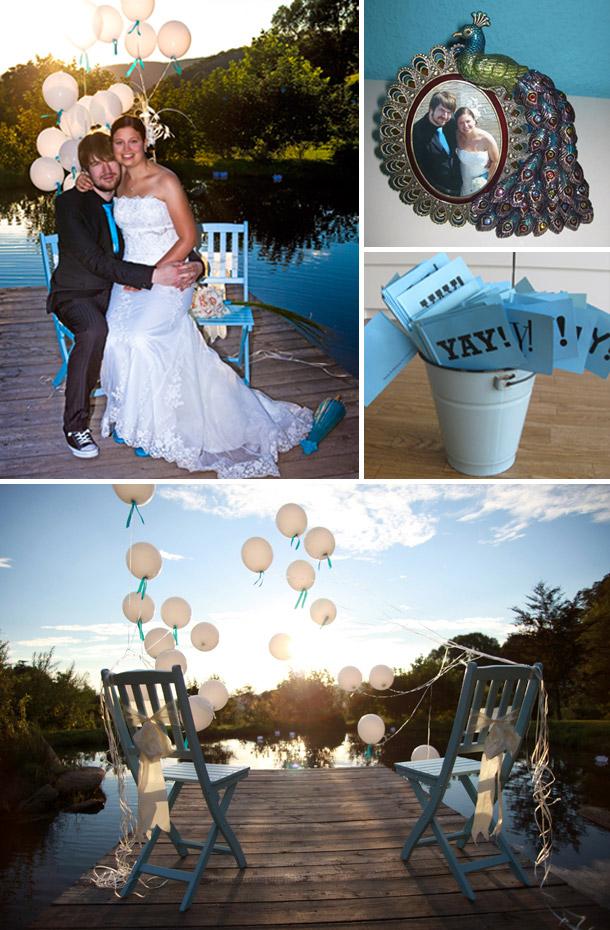 Nadja und Mathias - Kreative DIY Hochzeit in Reichenback