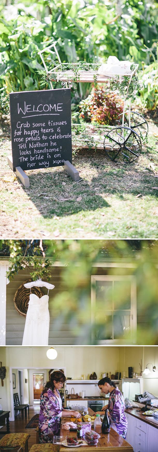 Australische Gartenhochzeit von Matthew Mead