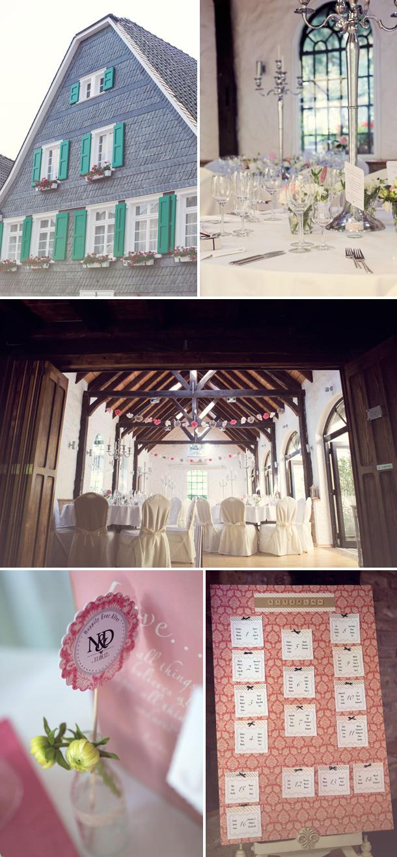 Märchenhochzeit im Schloss Lüntenbeck von Nancy Ebert