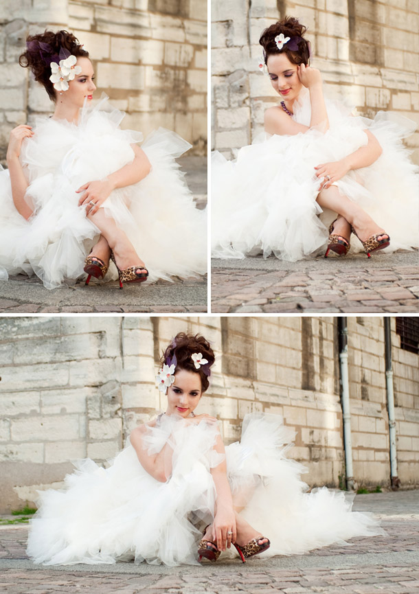 Pariser Bridal Shot mit Anne Buennig