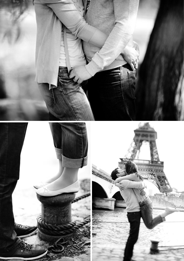 Paris Love Shot von Karoline Kirchhof Photography
