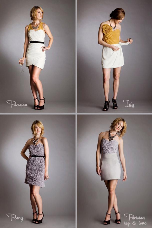 Kleider für Trauzeuginnen von Quail Bridal