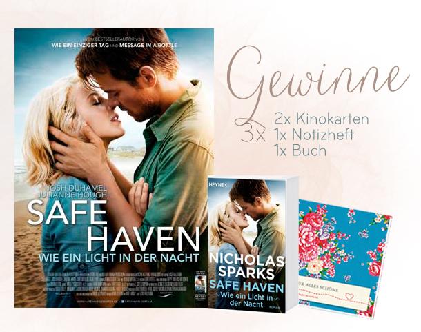 Safe Haven - Wie ein Licht in der Nacht - Kinostart Gewinnspiel