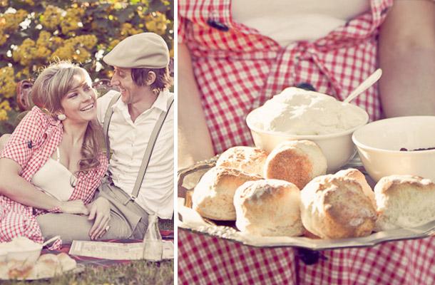 Romantisches Picknick in Australien