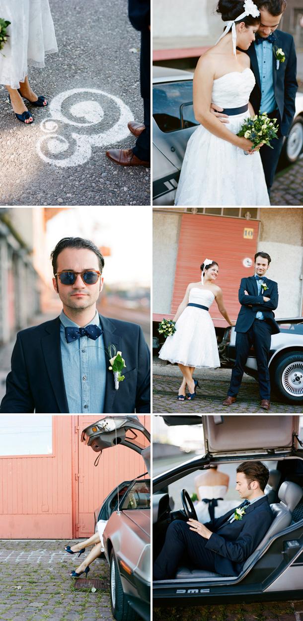 Industriell-schicke BBQ Hochzeit von Miguel Varona