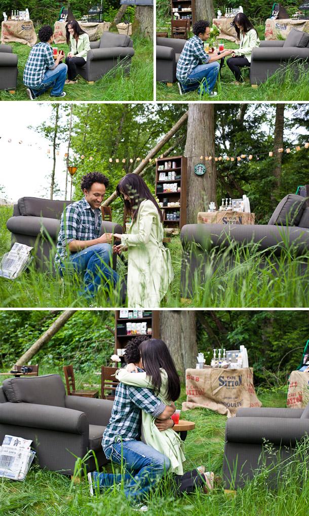 Mikaela Ruth und Shane - Verlobung im Starbucksfieber