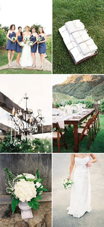 Style Me Pretty Rustikale Farmhochzeit von Steve Steinhardt