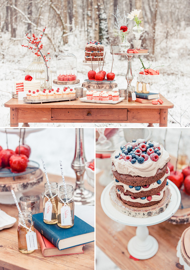 Schneewittchen Hochzeit Inspiration von Zuckermonarchie